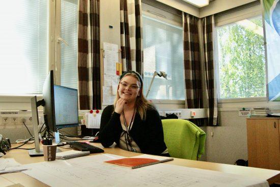"""""""Arvoni kohtaavat hyvin Lahti Energian arvojen kanssa, joten täällä on kiva työskennellä!"""""""